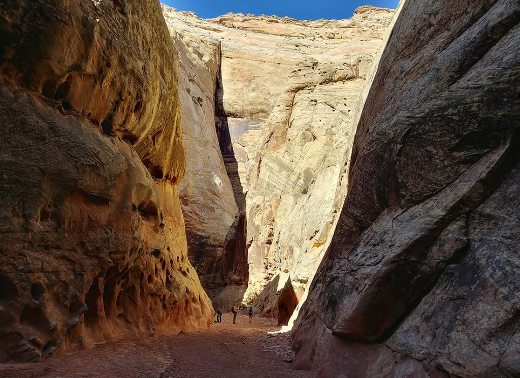 Grand Wash slot canyon