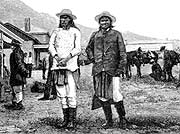 Geronimo at Fort Bowie