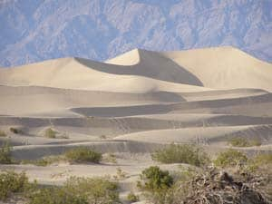 Sand dunes in death valley national aprk