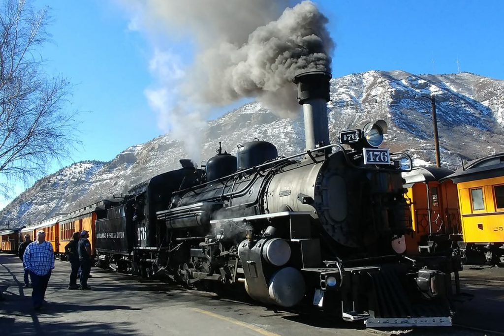 Durango Silverton Steam Train