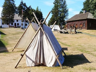 Fort Langley historic exhibits