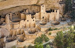 Mesa Verde National Park on our National Parks tour