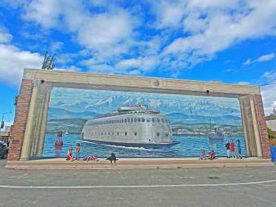 Mural in Port Angeles