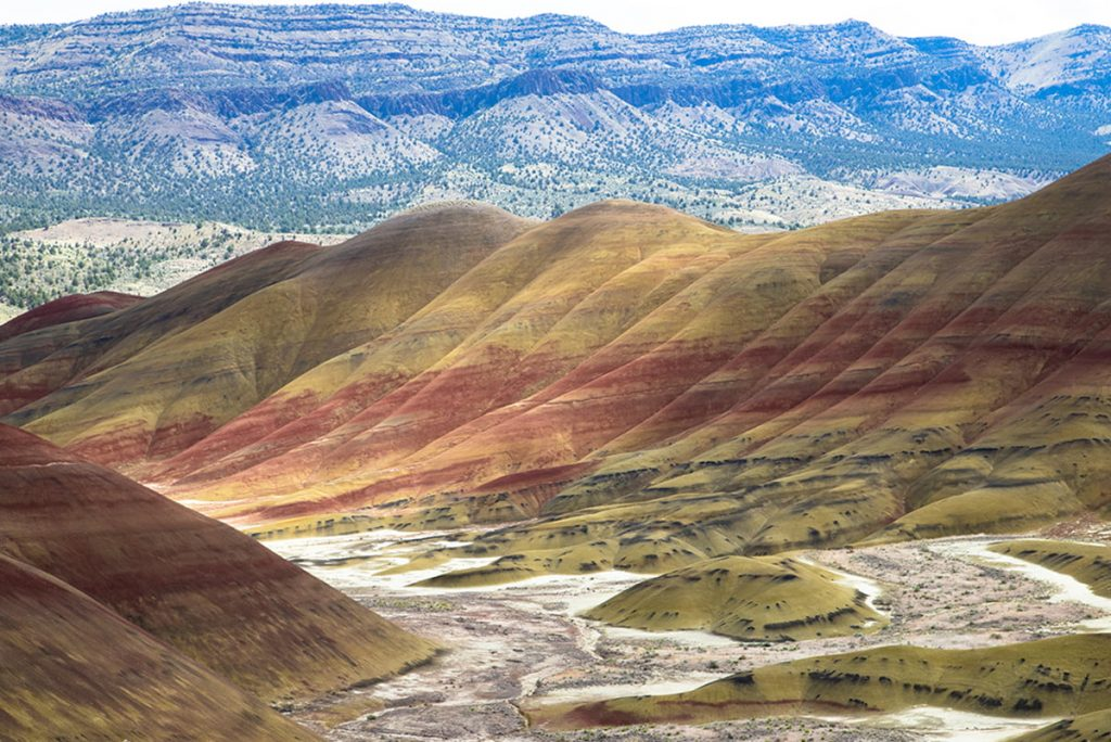 Painted Hills of the John Day Fossil Beds