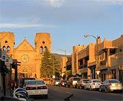 Downtown Santa Fe
