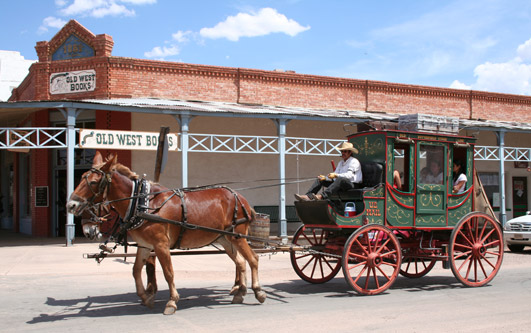 Horse Drawn Stagecoach