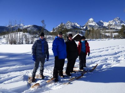 Winter Yellowstone Snowshoeing Trip